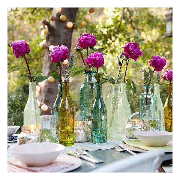 Outdoor Party Idea An Alfresco Affair found on Polyvore Baptism