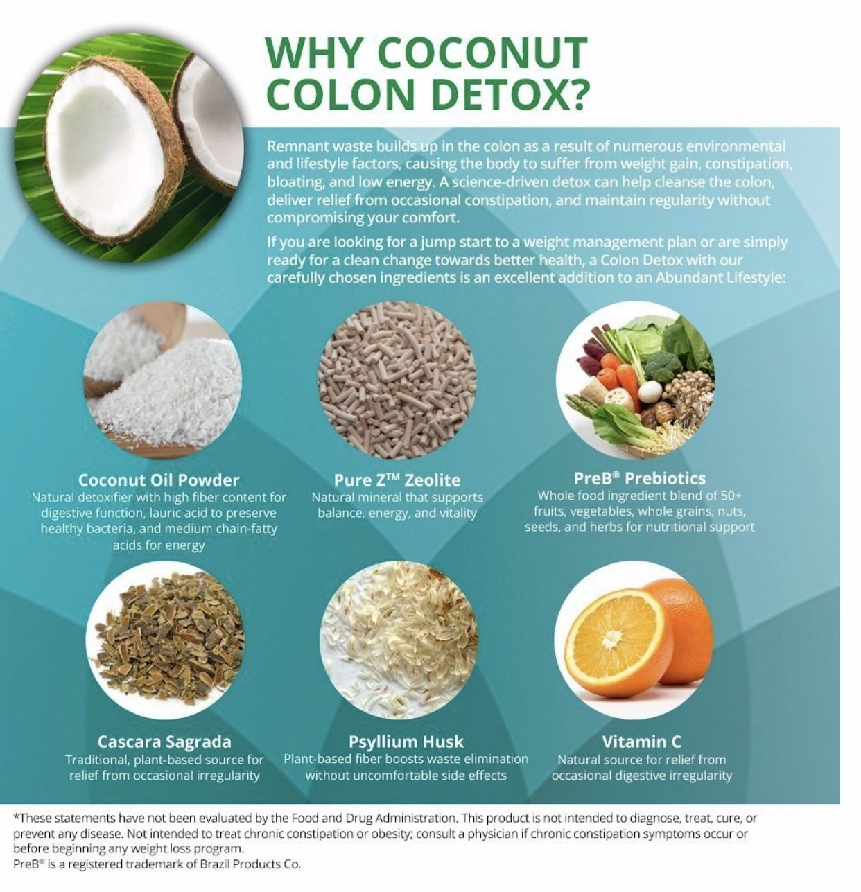 Buy herbal coconut weight loss -  Coconut Colon Detox Best Weight Loss Gentle Detox 100 Natural No
