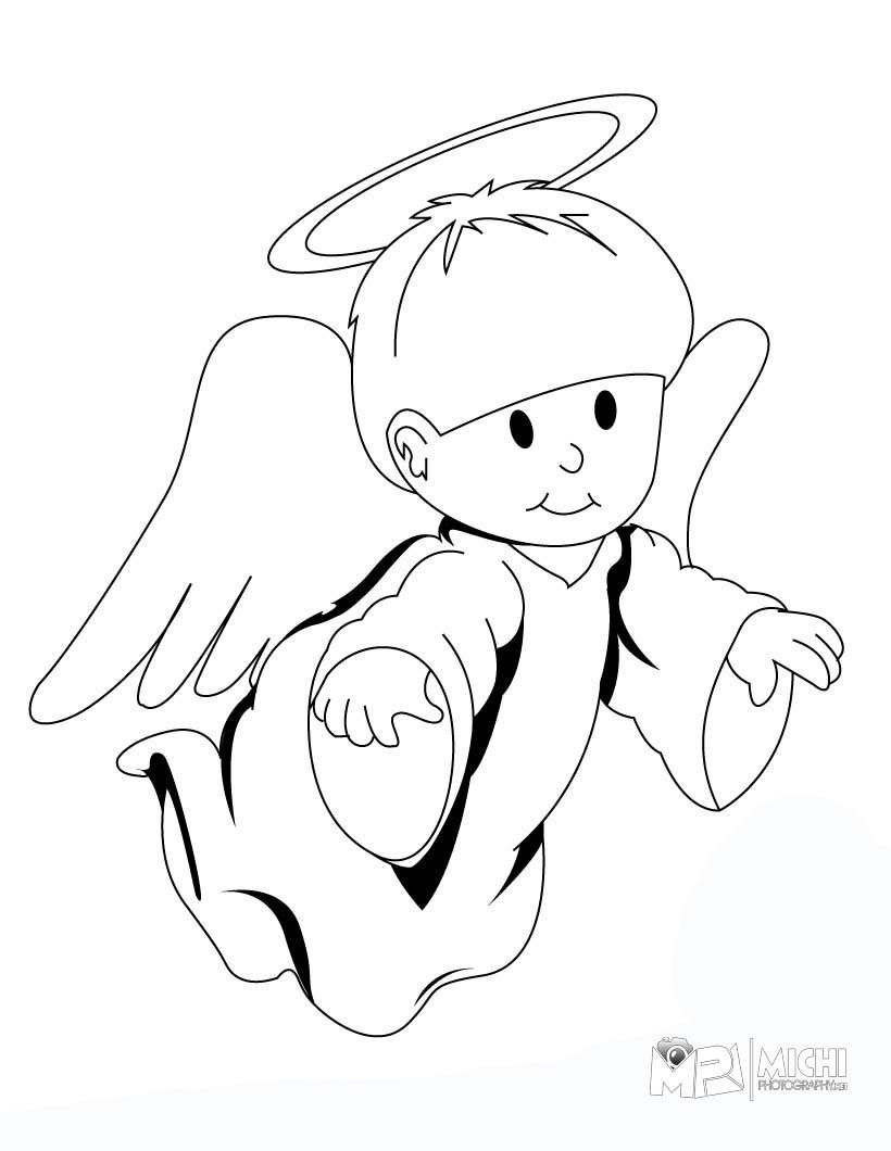 Cute Baby Angels Coloring Pages   Bing Images