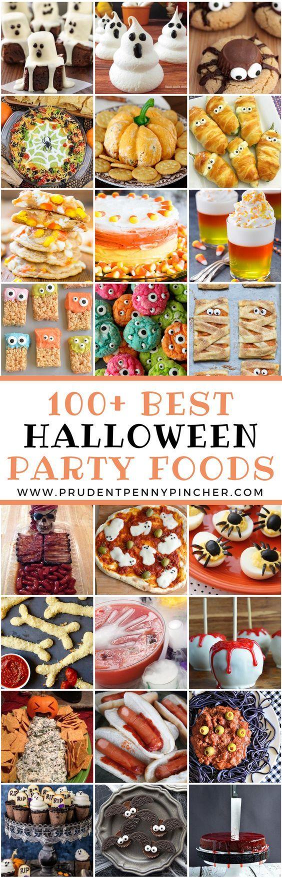 100 Best Halloween Foods | Halloween deko, Halloween und Snacks für ...