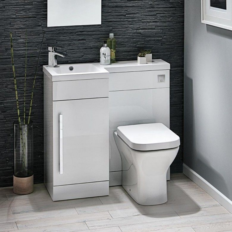 Toilet And Sink Unit