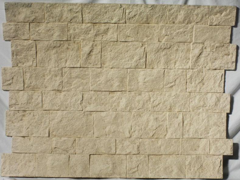 Panel decorativo castillo ocre paneles decorativos paneldeco panel revestimiento y - Revestimiento imitacion ladrillo ...