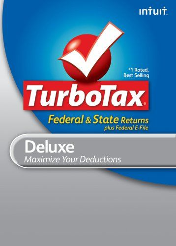 Turbotax Deluxe Federal E File State 2010 For Mac Download Old Version 57 99 Turbotax Tax Software Small Business Software