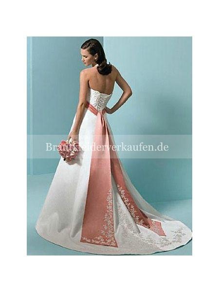 farbige brautkleid verkaufen | Farbige Brautkleider | Pinterest ...