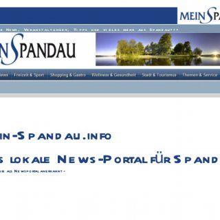 + + + Ak t u e l l e Ne ws , Ve r an s t al t u n g e n , Ti p p s u n d vi e l e s me h r au s S p an d au + + + M e in-S p and au .info D as lokale N e ws. http://slidehot.com/resources/spandau-mein-spandau-info-das-lokales-news-portalu-info.63787/