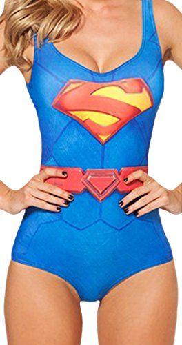 erdbeerloft - badeanzug einteiler im supergirl-style, s-l, größe, Hause ideen