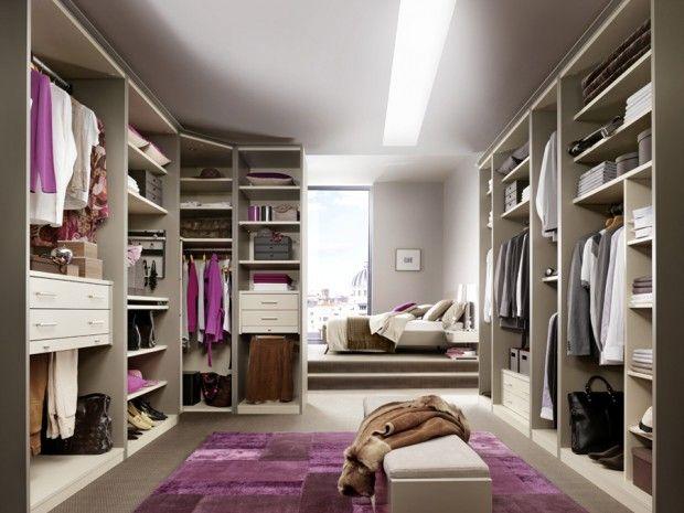 24 idées de dressing pour votre loft | Dressings, Dressing room ...