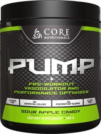 Core Nutritionals Pump Pre Workout Vasodilator Powder Sour Apple Candy 282g Best Deals And Reviews Preworkout Pre Workout Nutrition Pump Pre Workout