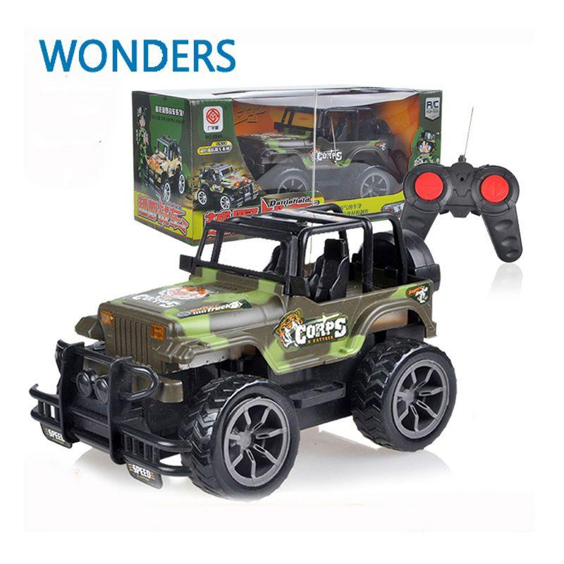 Rc Jeep 1 24 Drift Speed Radio Suv Camouflage Military Remote