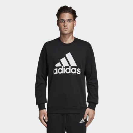 Photo of adidas Must Haves Abzeichen des Sport Crew Sweatshirts – Schwarz | adidas US