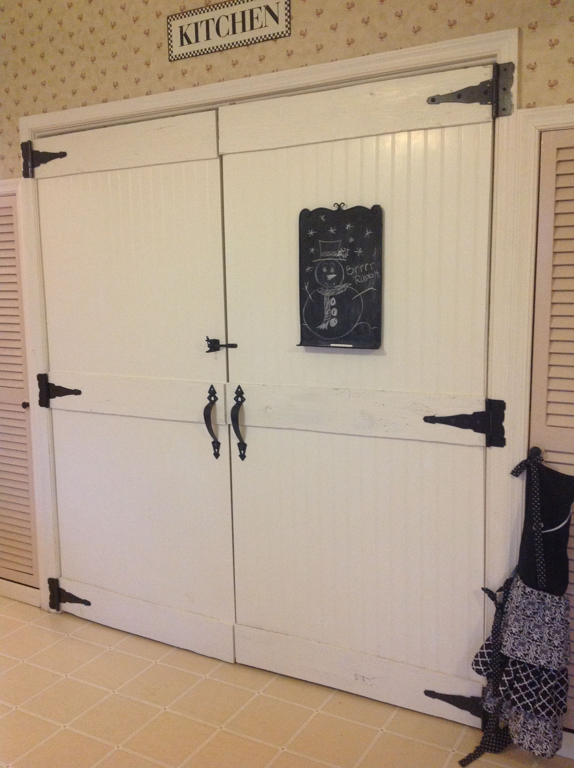 Bedroom Door No Longer Latches I Love My New Pantry Doors These Used To Be Double Bi