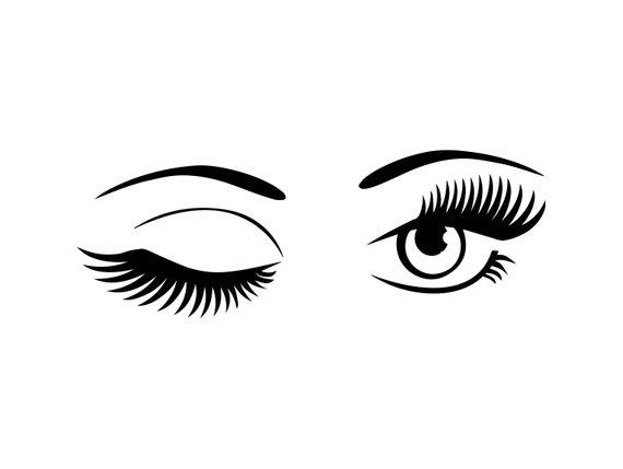 pin by nice look models on bre eyes clip art cricut rh pinterest com Large Winking Eye Clip Art Man Winking Clip Art