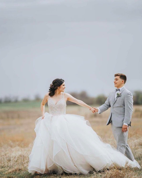 The most romantic and whimsical wedding dress, Morilee by Madeline ...