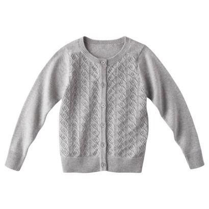 Cherokee® Infant Toddler Girls' Lace Stitch Sweater - Way too cute, @Target