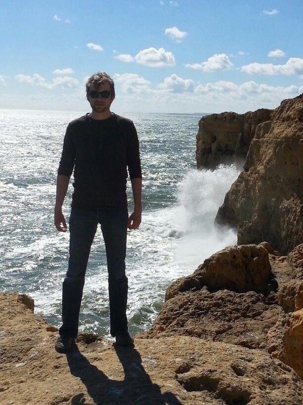 Wenn man mich jetzt antickt, dann kipp ich in' Atlantik! #ulaubsgruss