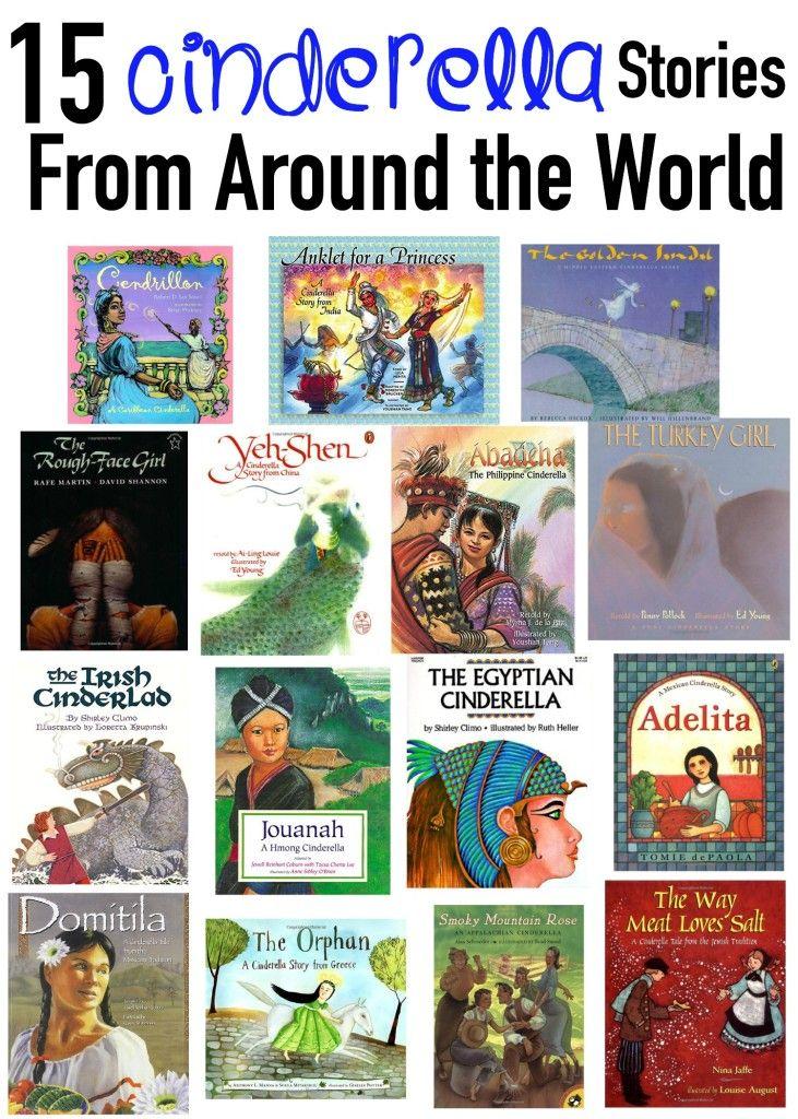 15 Cinderella Stories from Around the World