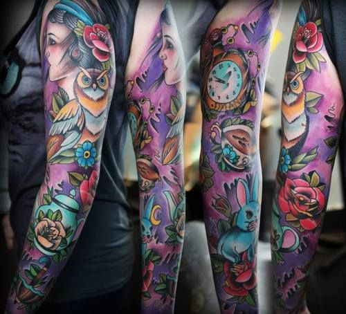 Animal Tattoos And Designs Page 132 Sleeve Tattoos Full Sleeve Tattoos Sleeve Tattoos For Women