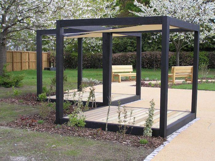 Le Top Des Abris De Jardin 45 Idees Design Pergola Dans Le Jardin Abri De Jardin Abris De Jardin Design