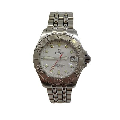 Beckers Jewelry Corp - Titoni Cosmo King, White Dial