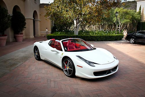 White On Red Sports Cars Luxury Super Sport Cars Dream Cars