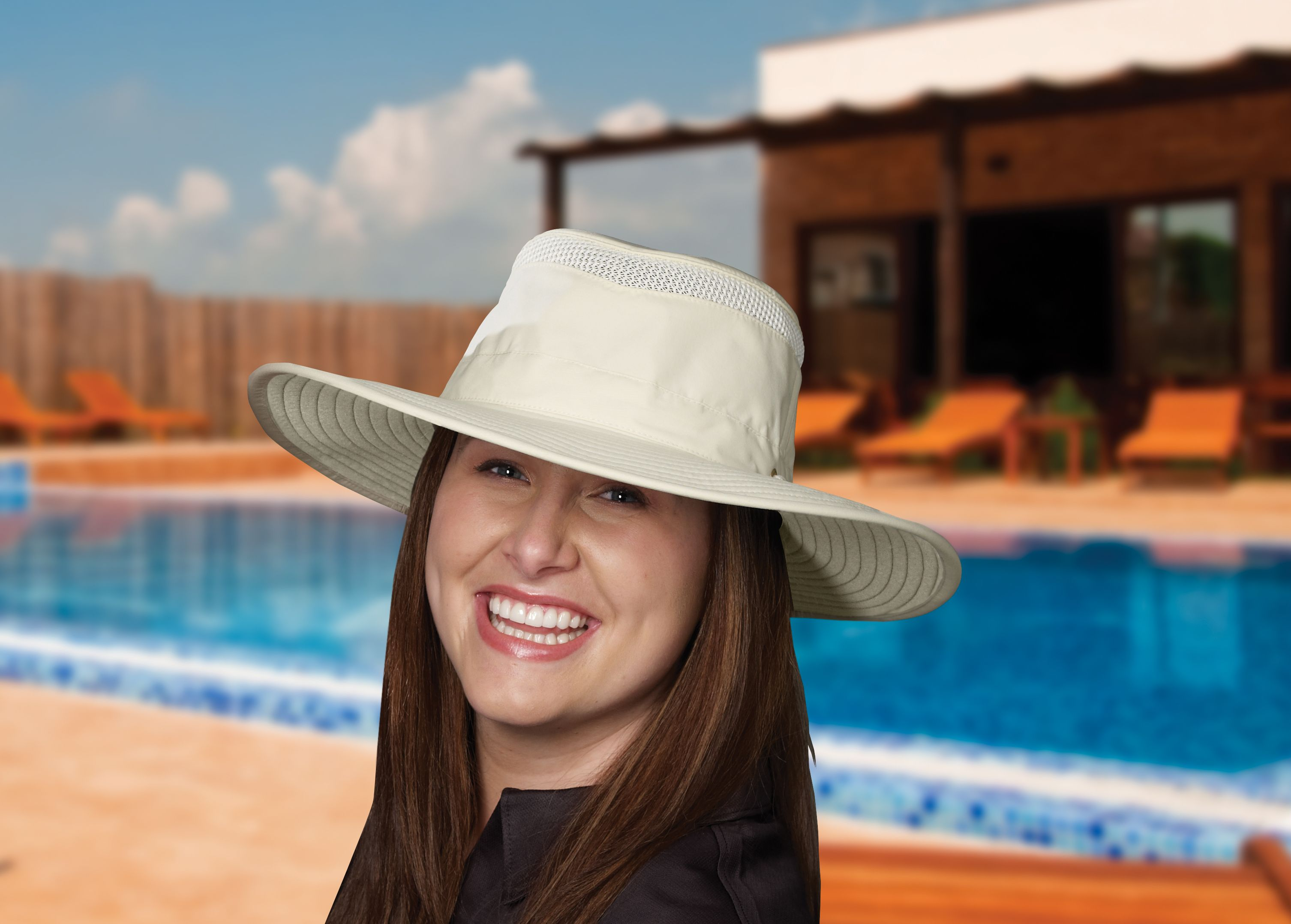 This hat has one of Tilley s broadest brims in a lighter weight AIRFLO  material. The 448290435fad