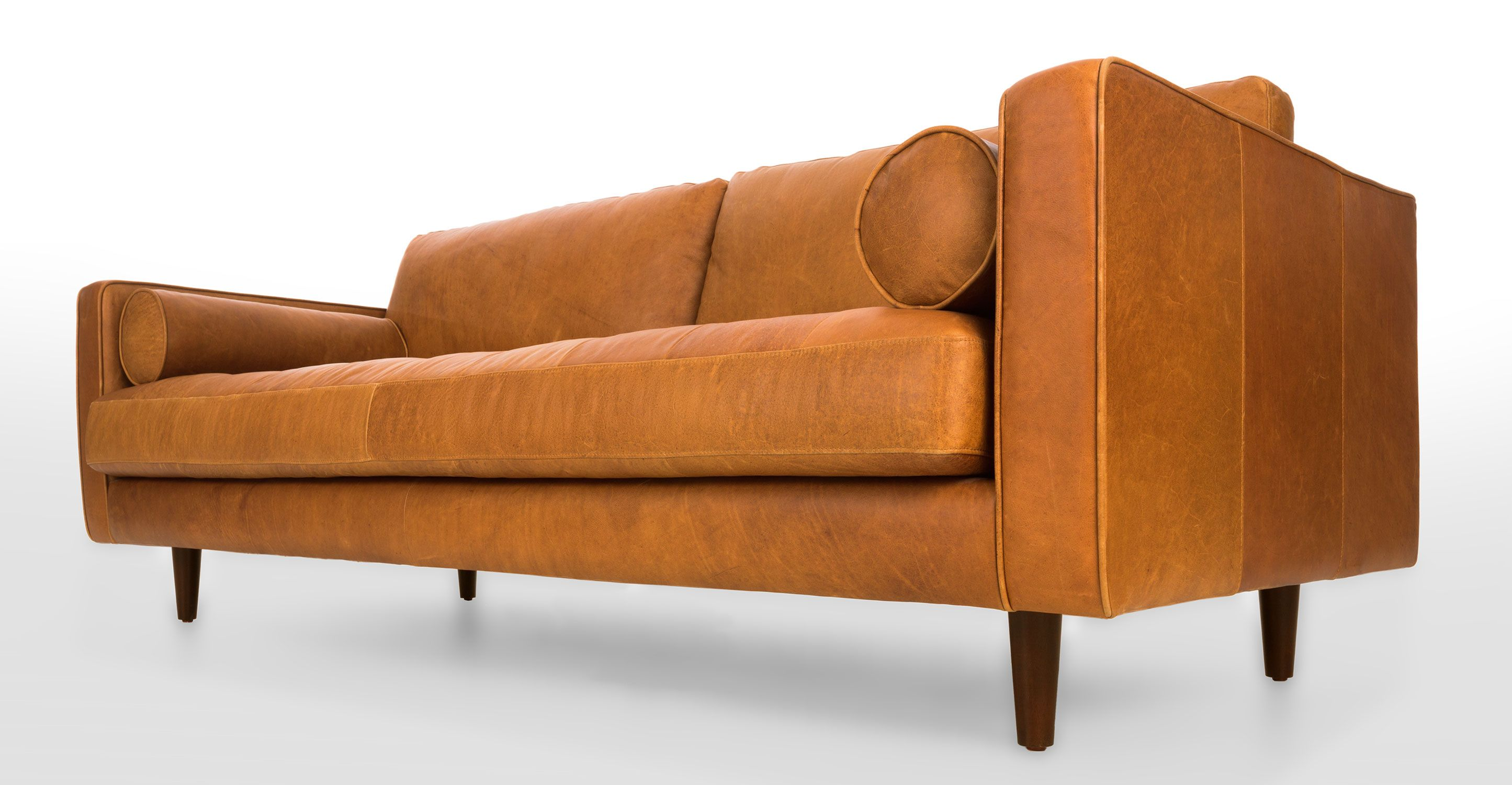 tan furniture sofa how to clean a diy brown leather italian article sven