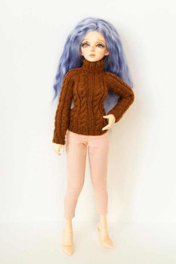 BJD clothes. 1/4 bjd Cardigan for MSD, MiniFee swe