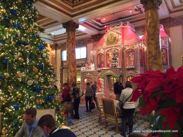 story gingerbread house at the fairmont hotel in san francisco also rh pinterest