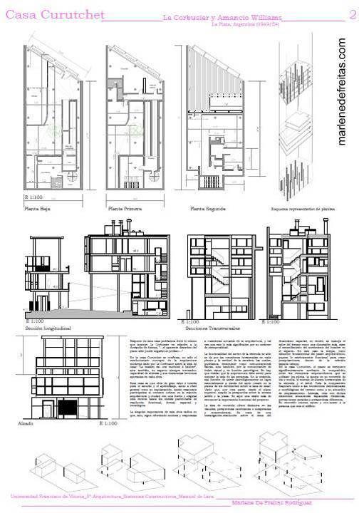 Casa Curutchet House | Architectural Details, Plans, and Diagrams ...