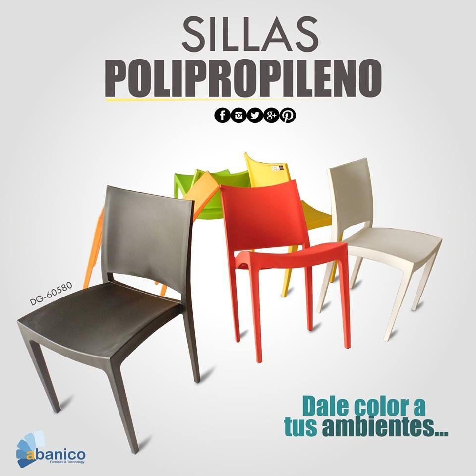 #dalecoloratusambientes con la nueva línea de sillería de polipropileno. Contamos con una amplia variedad de colores. ¡Ven y visitanos! Contáctanos a los telefonos 2440-1620 / 2440-1607