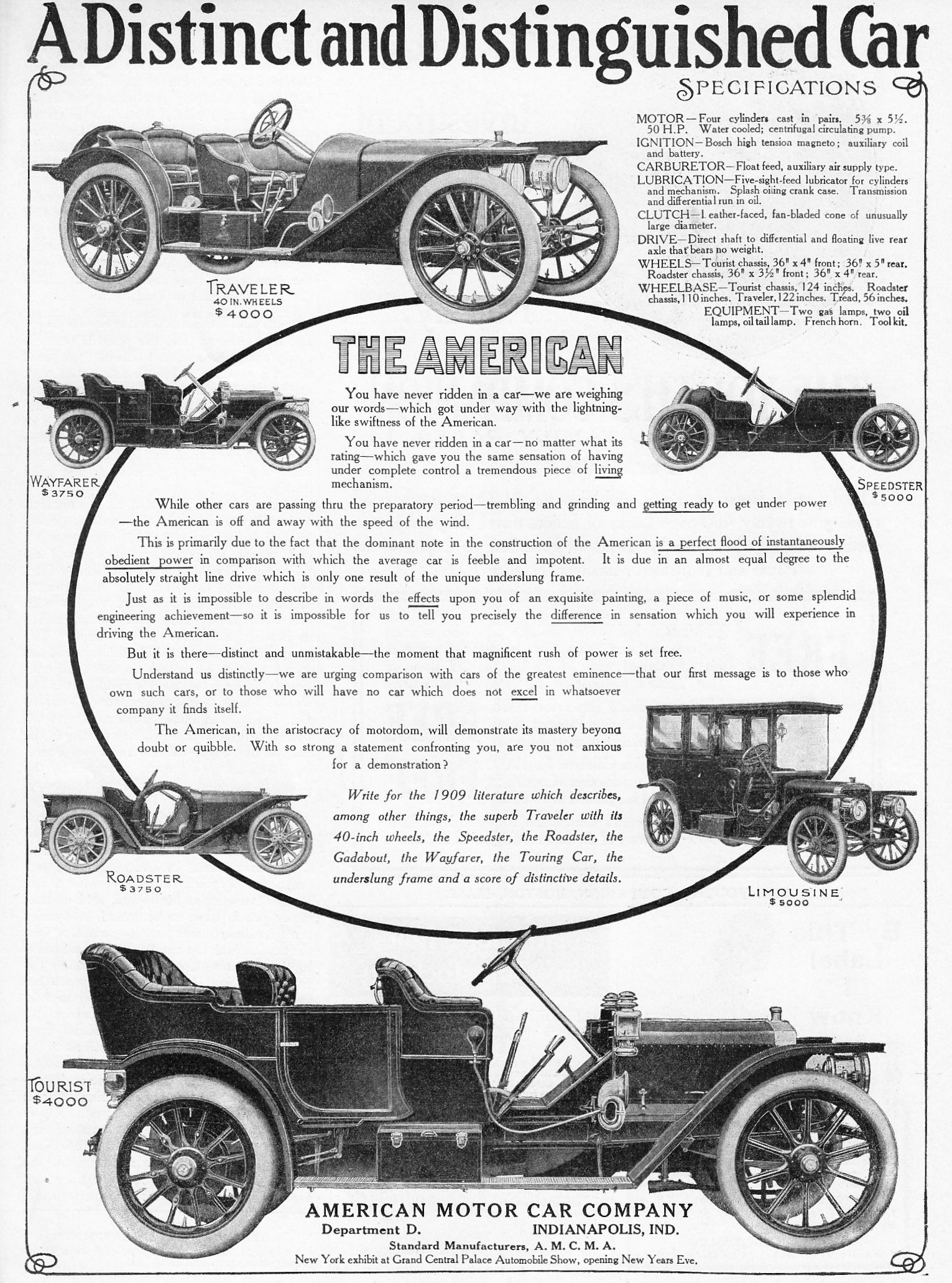 1908 American American Motor Car Company Chucks Converse
