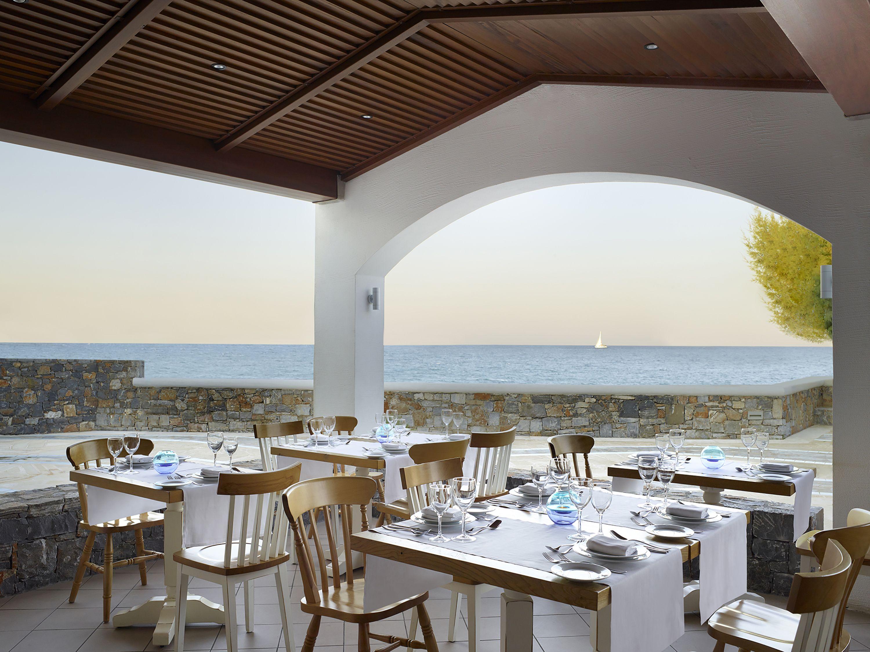 Almyra Restaurant By The Sea In Hersonissos Crete Hotels Hotel Restaurant