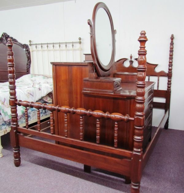 Lillian Russell Bedroom Suite Value Intercasherfo Walnut Piece