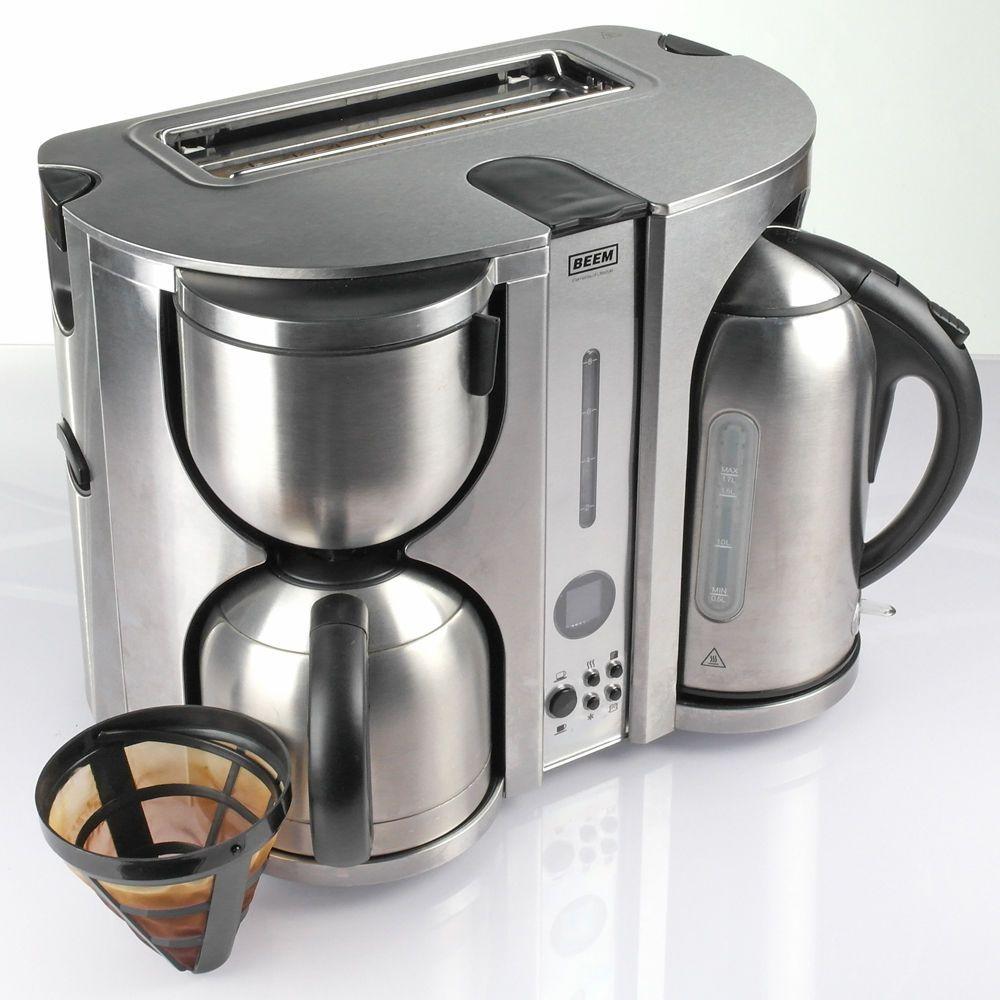 beem ecco 4 in 1 fr hst cks center kaffeemaschine wasserkocher toaster