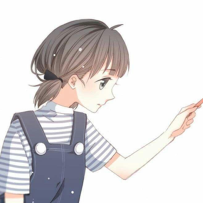 Couple Gadis Animasi Gambar Pasangan Anime Gambar