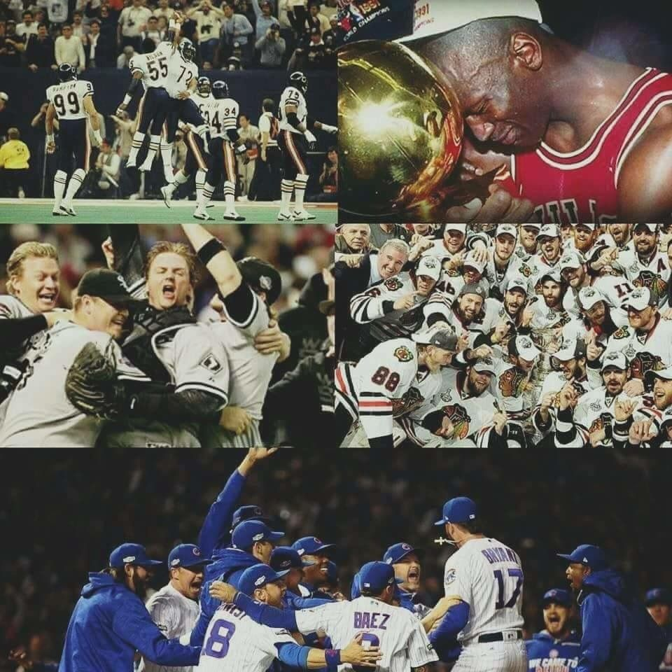 Chicago. The city of champions. Chicago history, We are