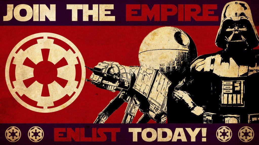 Star Wars Empire Propaganda Wallpaper By Matheusfrancischini Star Wars Empire Empire Star Wars