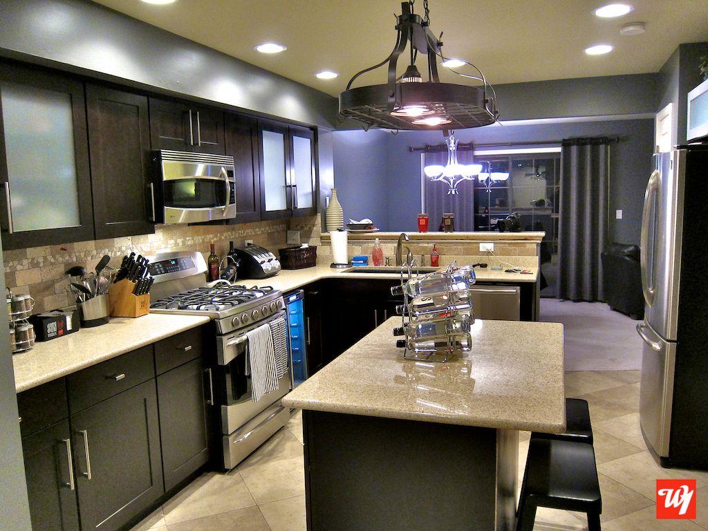 Ward 1 Kitchen Remodel #kitchen #remodel #custom #granite #darkwood #stainless #recessedlighting #kitchenremodel #kitchenupgrade