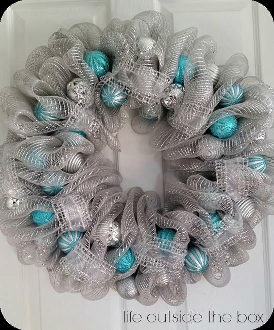 Christmas Deco Mesh Wreaths | Deco Mesh Wreaths | Pinterest ...