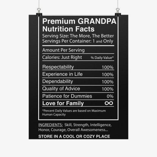 nutrition facts label pinterest