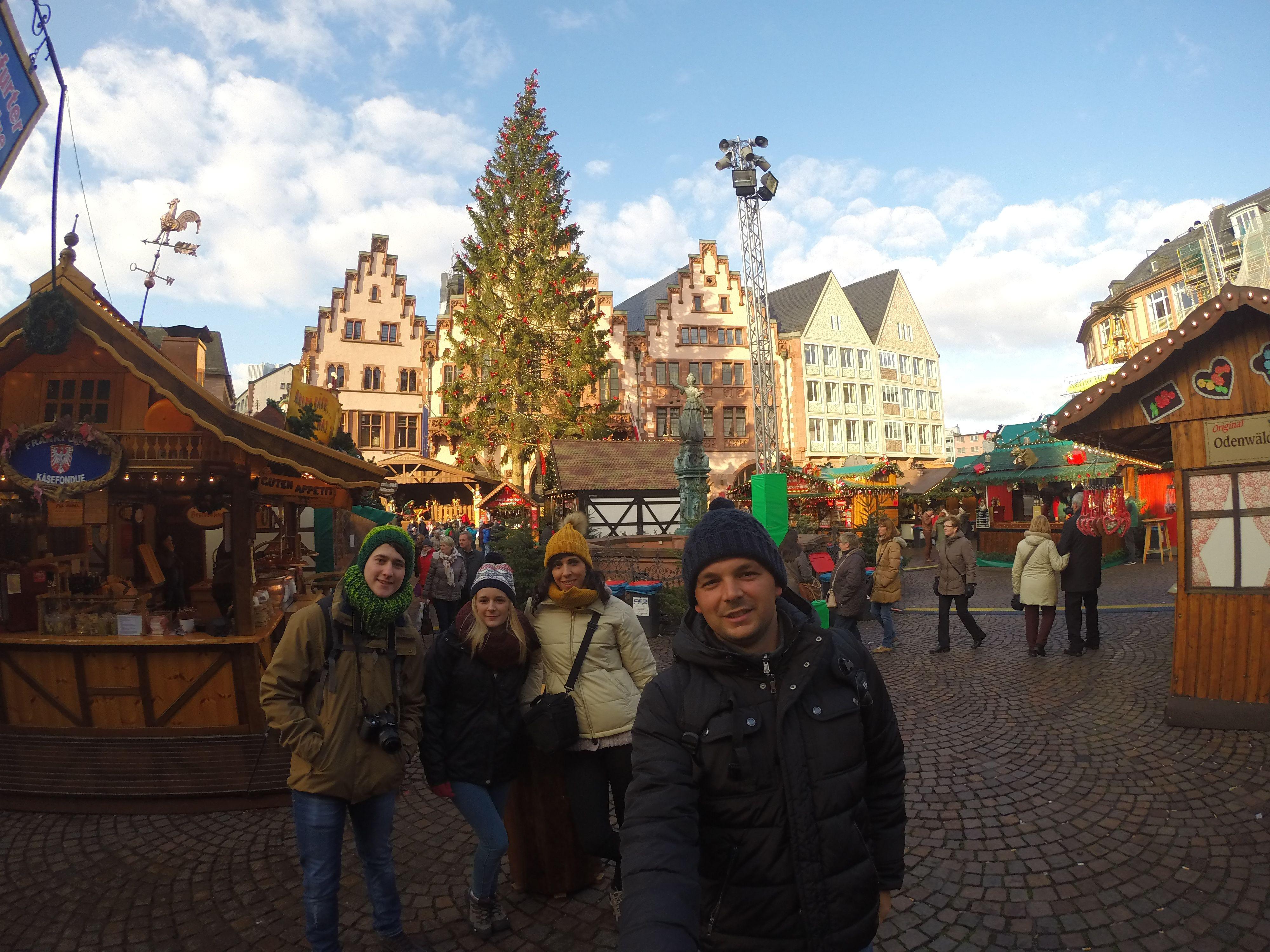 Mercadillo navideño Frankfurt