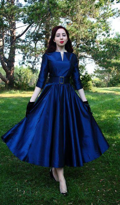 50s Dress Ideas Vintage 1950s Dresses Plus Size Gowns 50s Fashion Dresses Fashion Dresses
