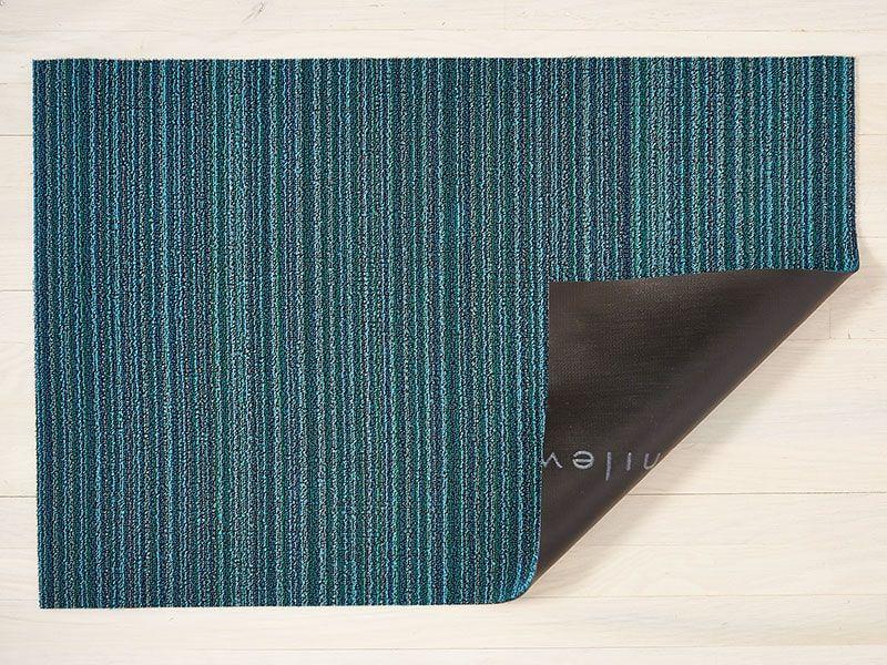 Skinny Stripe Shag Mats Chilewich, Outdoor floor mats