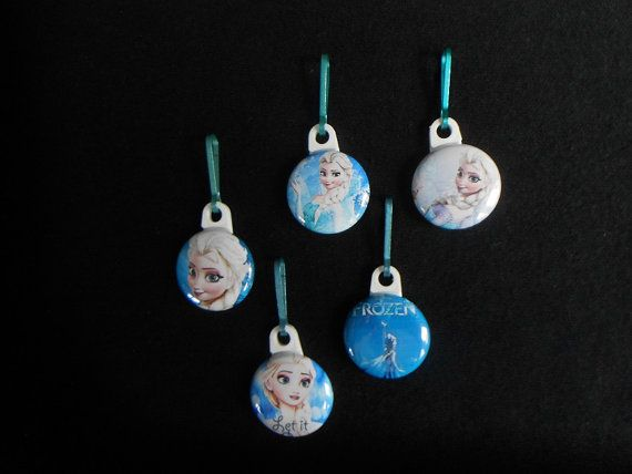Elsa Zipper pulls.Perfect for a coat by GrandmasBowsonETSY on Etsy, $7.00