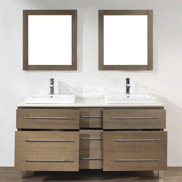 Spa Bathe Inch Gofu Series Double Vanity Lowes Canada Bath - Lowes hardware bathroom vanity