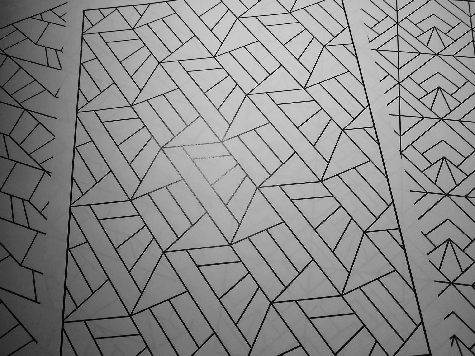 Pdf Geometric Tessellations 30 Adult Colouring Pages With Simple