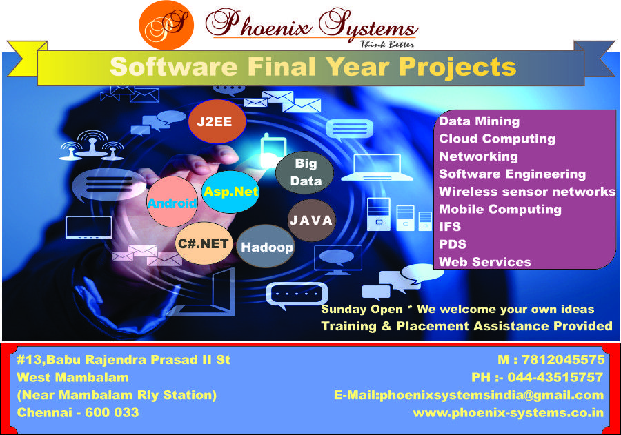 We are focusing on Information Technology and Embedded