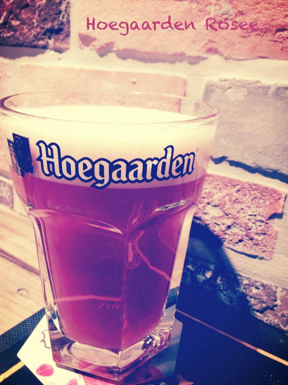Hoegaarden Rosee, iBeer, 14/09/28 Hoegaarden, Dunkin