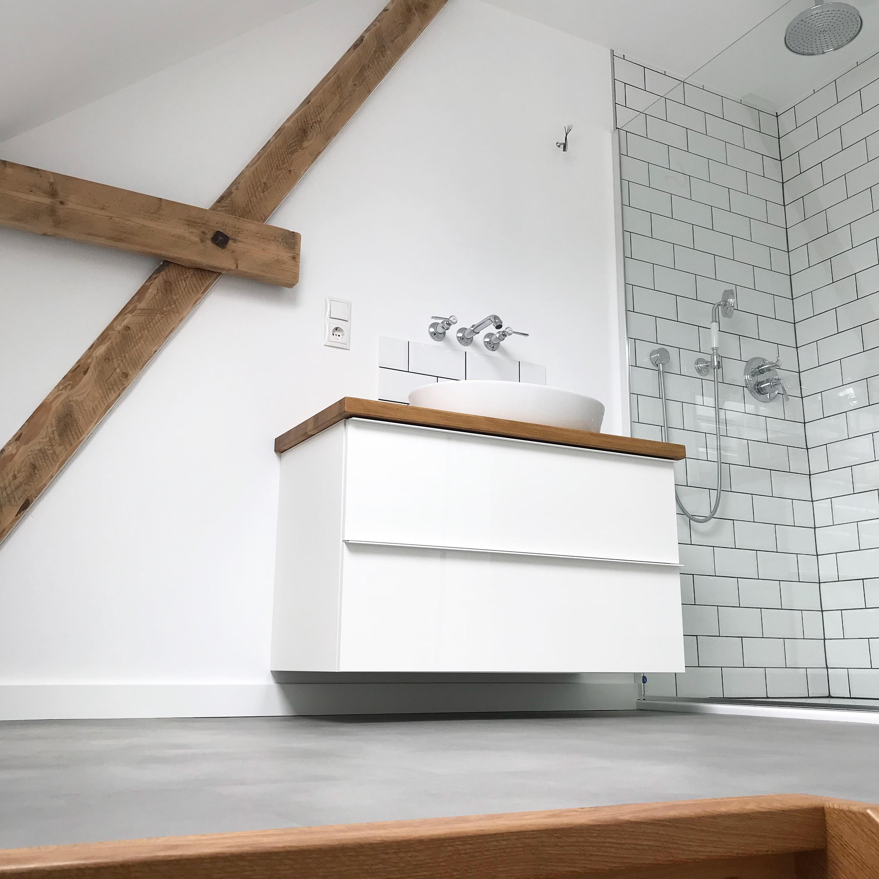 Bald Ist Das Bad Fertig Badezimmer Dusche Was Badezimmer Badezimmerideen Badezimmer Waschtische