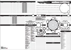 Decisive image in printable 5e character sheet